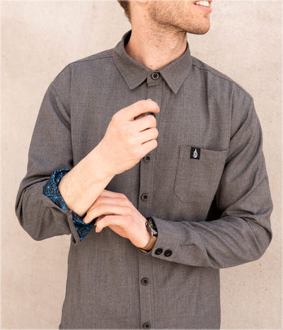 Starseed Button Down Shirt by Kimi Takemura