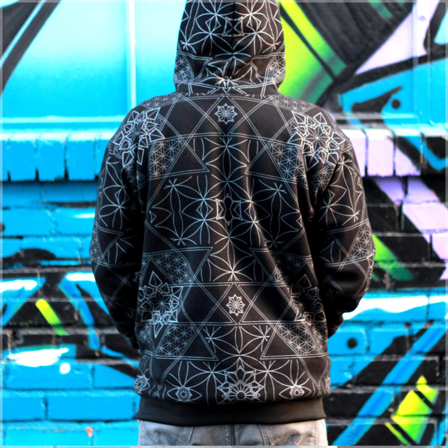 Synapse Reversible Hoodie 2.0 by Justin Totemical