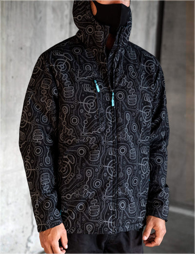Syntax Obsidian Jacket by Ben Ridgway