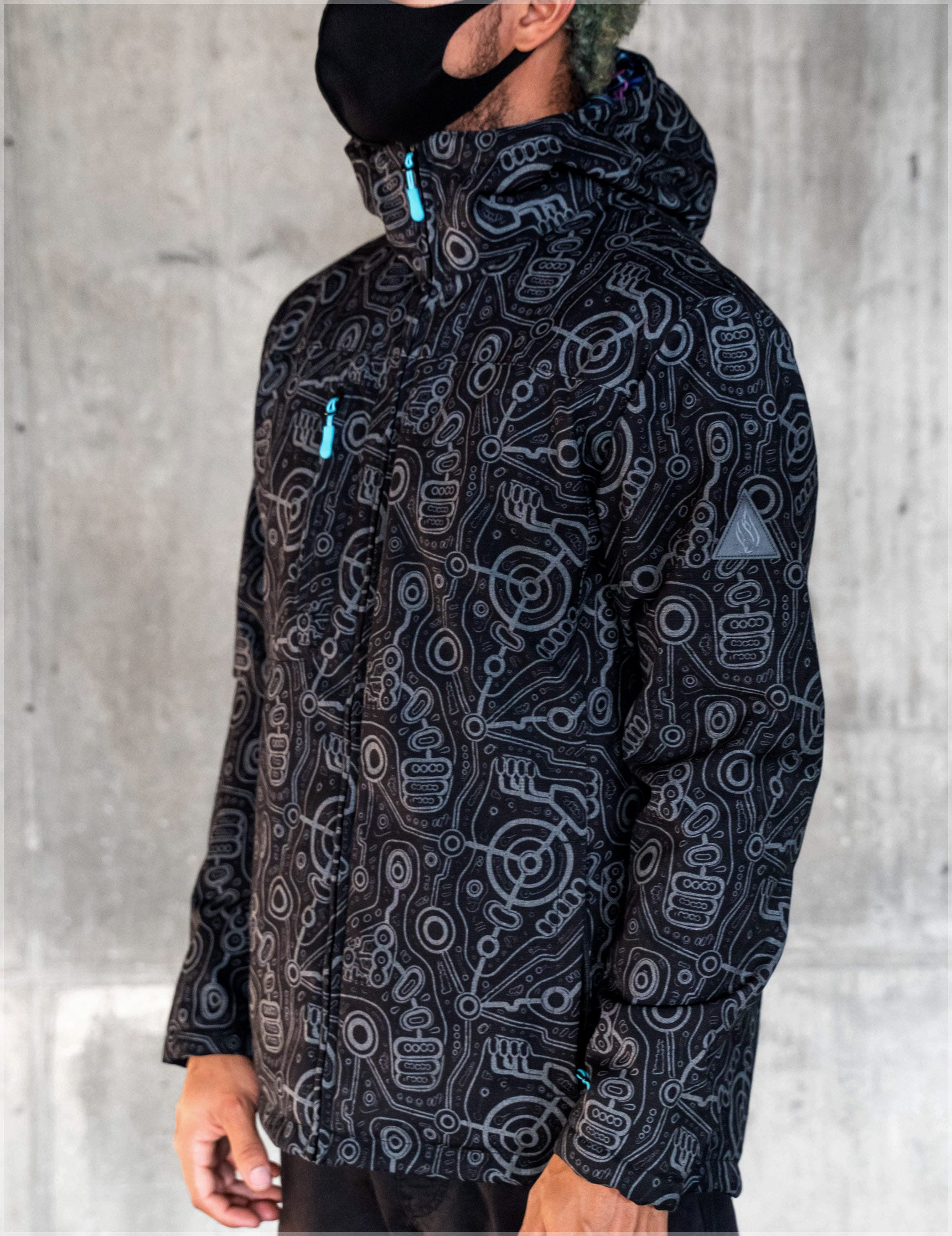 Syntax Obsidian Jacket by Ben Ridgway - Ships Dec 2020
