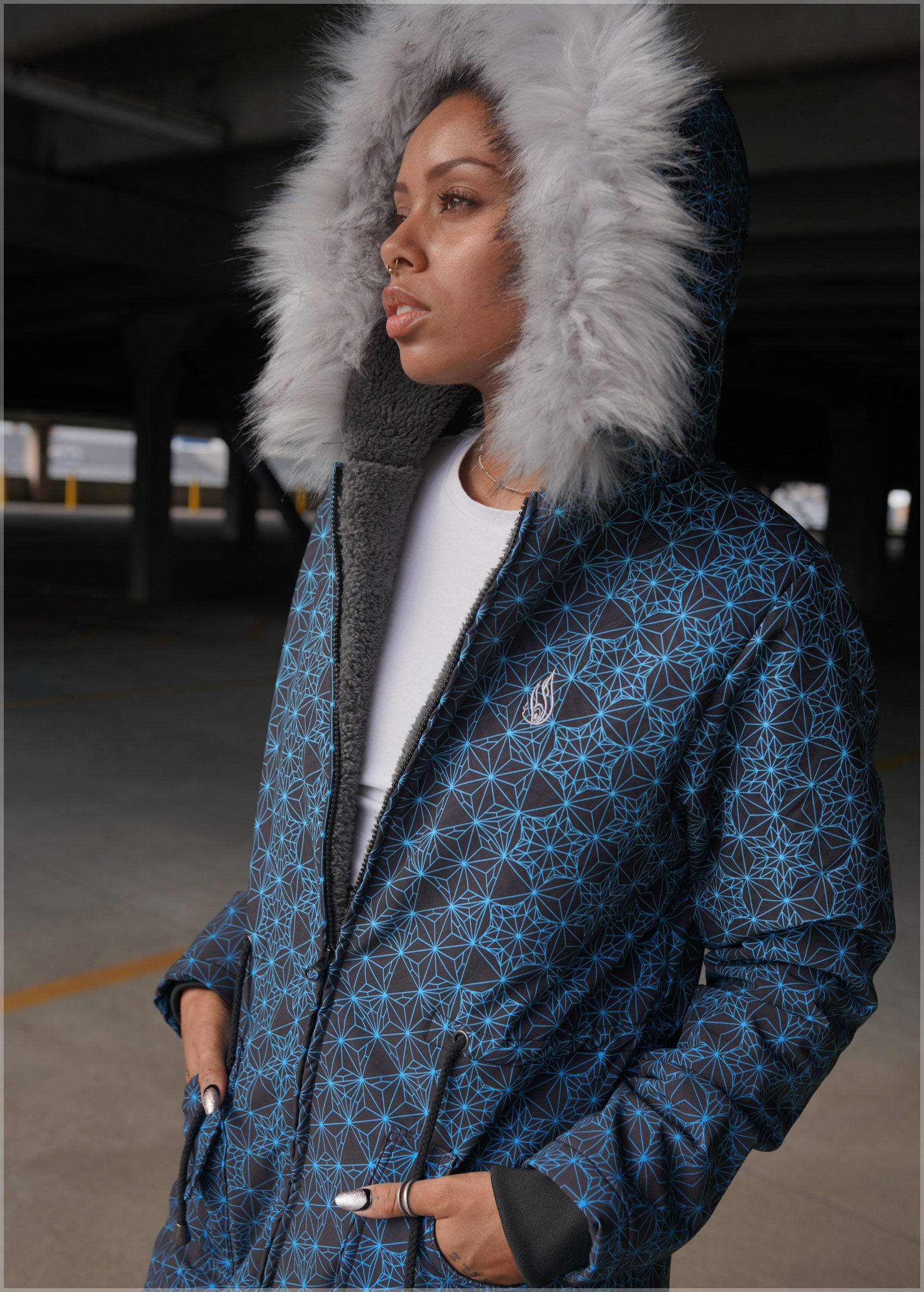 Starseed Sherpa Jacket by Kimi Takemura