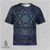 Trichotomy Sublimation Tee by Peter Westermann