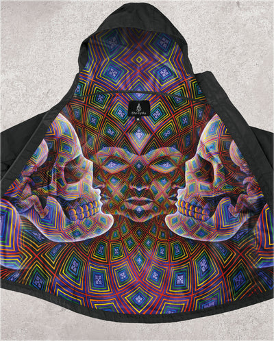 Vajra Being Obsidian Jacket by Alex Grey