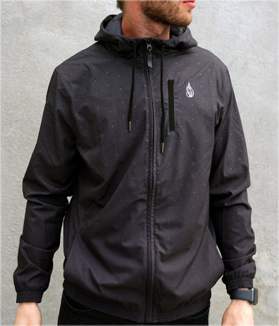 Black Box Windbreaker by Threyda