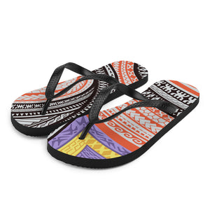 Flip-Flops Hawaiian / Samoan / Maori tattoo / Tribal
