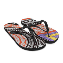 Load image into Gallery viewer, Flip-Flops Hawaiian / Samoan / Maori tattoo / Tribal