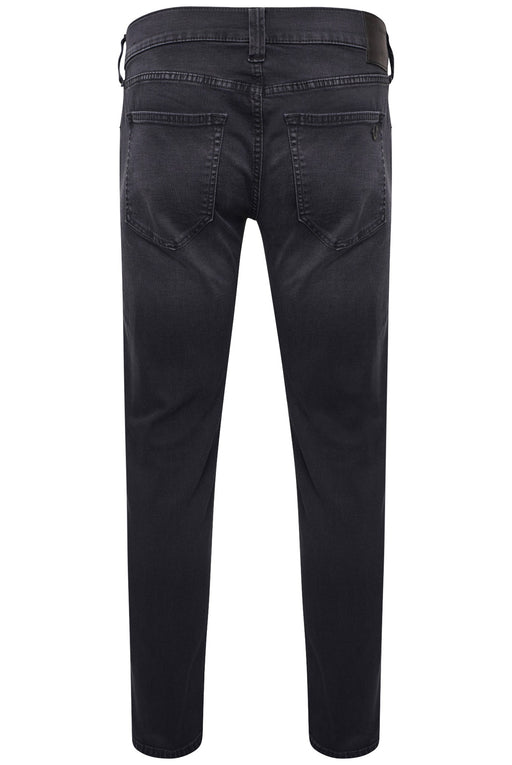 TRUE RELIGION SLIM FIT WASHED BLACK STRETCH JEAN BLACK - giancarloricci