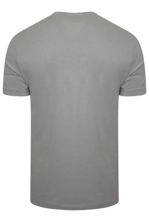 MICHAEL KORS REGULAR FIT CORE LOGO TEE GREY - giancarloricci