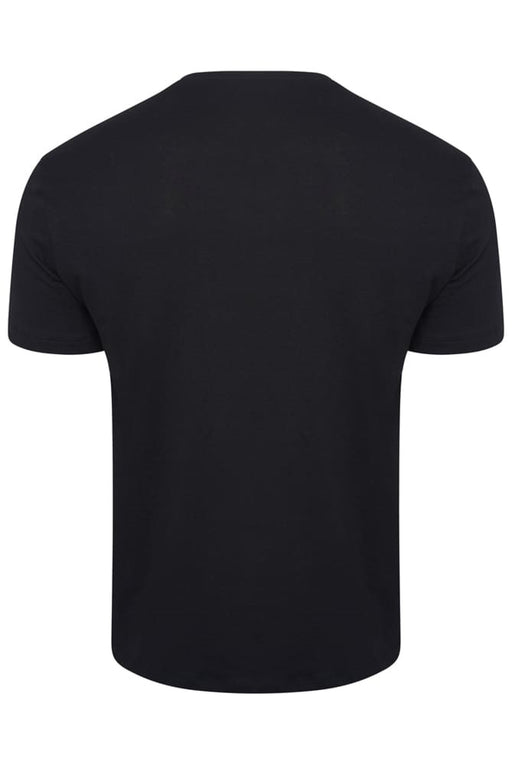 BOSS BODYWEAR CLASSIC EMBROIDED LOGO CREW BLACK