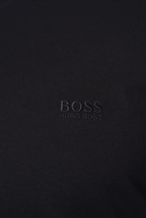 BOSS BODYWEAR 2 PACK CLASSIC EMBROIDERED LOGO CREW BLACK - giancarloricci