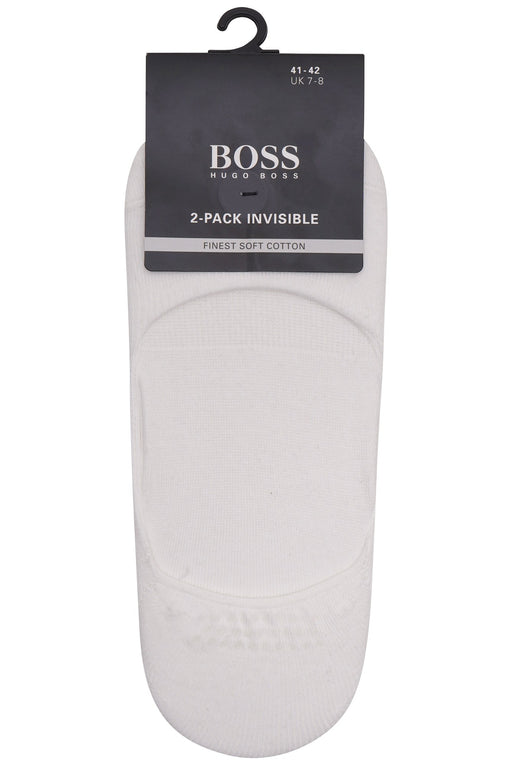 BOSS BODYWEAR 2PSLINVISIBLE 50388452 WHITE - giancarloricci