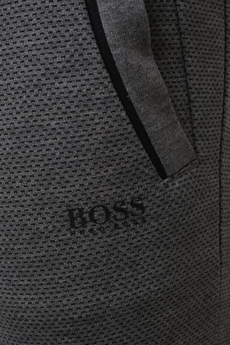 BOSS ATHLEISURE DOUBLE FACE CUFF PANT GREY - giancarloricci