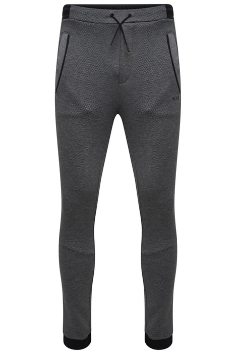 BOSS ATHLEISURE DOUBLE FACE CUFF PANT GREY - Giancarlo Ricci
