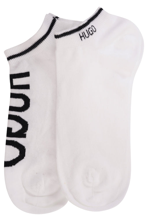 HUGO BODYWEAR LOGO ANKLE SOCK WHITE - giancarloricci