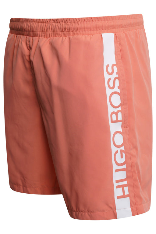 BOSS BODYWEAR BAR LOGO SWIMMER ORANGE - giancarloricci