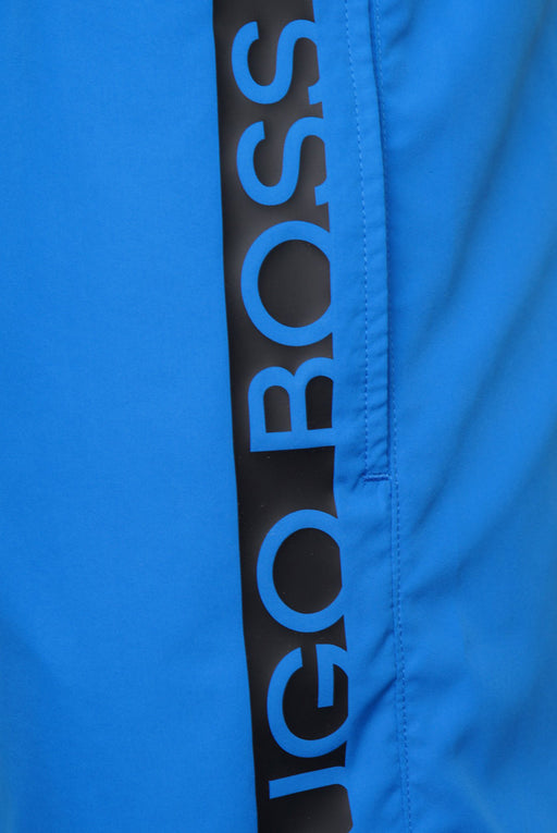 BOSS BODYWEAR BAR LOGO SWIMMER BLUE - giancarloricci
