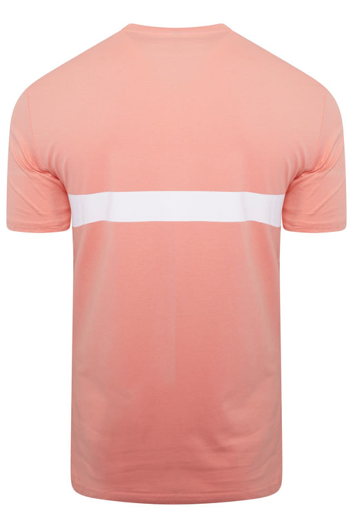 BOSS BODYWEAR BAR LOGO UV TEE ORANGE - giancarloricci