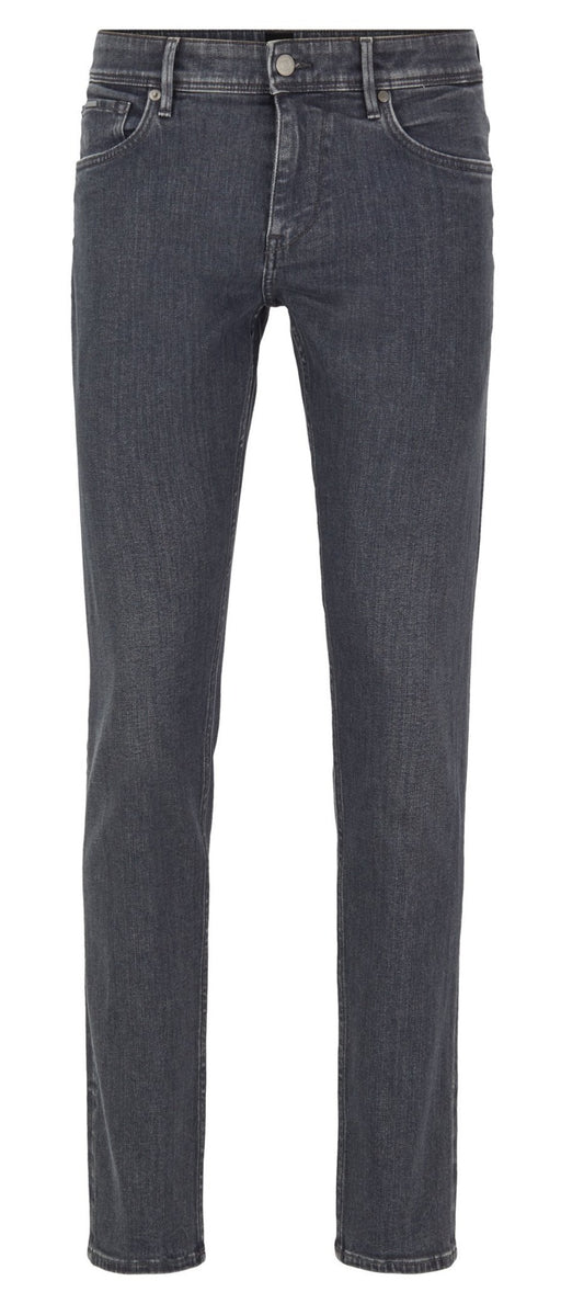 BOSS SMART CASUAL EXTRA SLIM FIT GREY DENIM JEAN GREY - giancarloricci