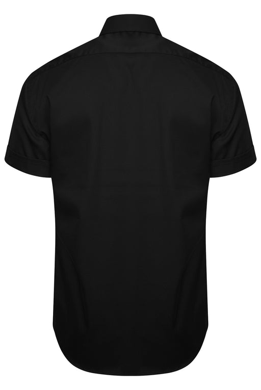 KARL LAGERFELD SNAP BUTTON SHIRT BLACK - giancarloricci