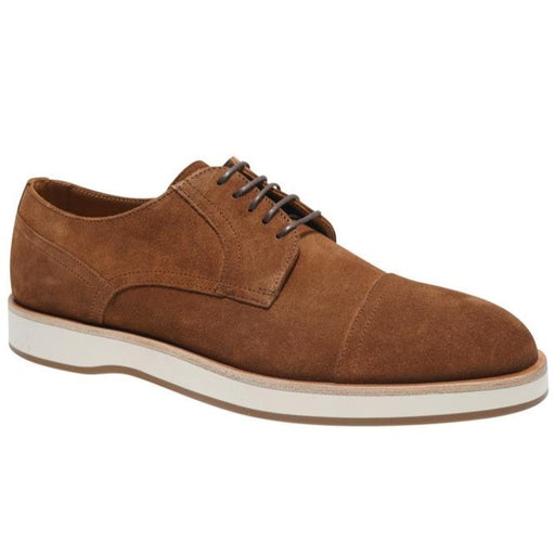 BOSS SUEDE LACE UP DERBY BROWN - giancarloricci
