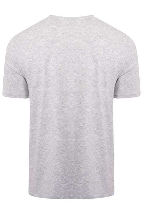 BOSS BODYWEAR BAR LOGO TEE GREY - giancarloricci
