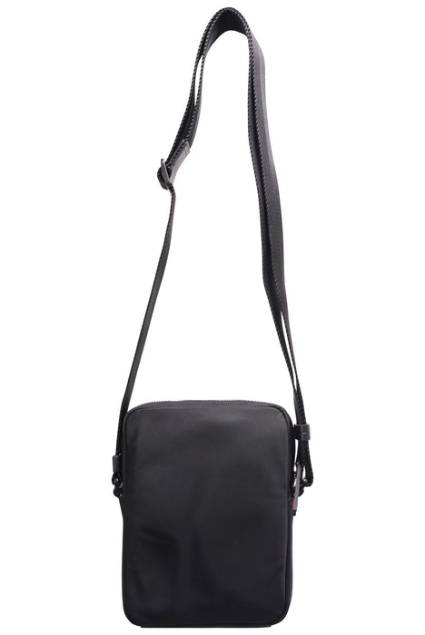 HUGO LOGO STRIPE MAN BAG BLACK - giancarloricci