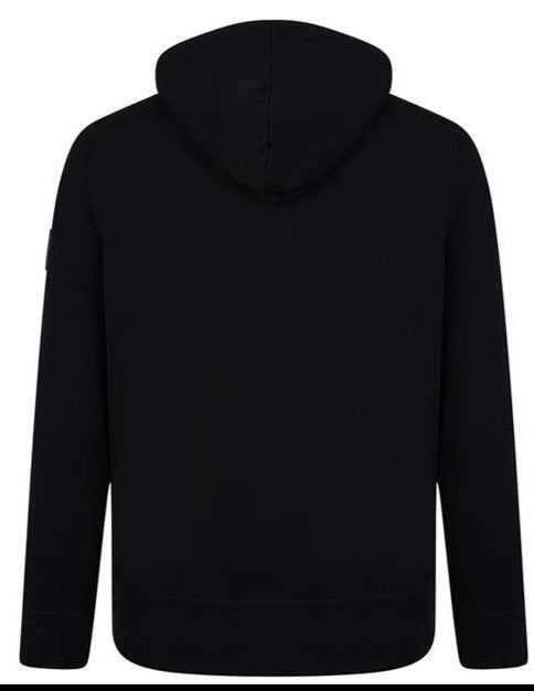 BOSS CASUAL REGULAR FIT ZIPPER HOODIE BLACK - giancarloricci