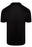 EMPORIO ARMANI MERCERISED EAGLE LOGO JERSEY POLO BLACK