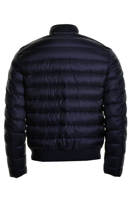 BELSTAFF CIRCUIT QUILTED BOMBER JACKET BLUE