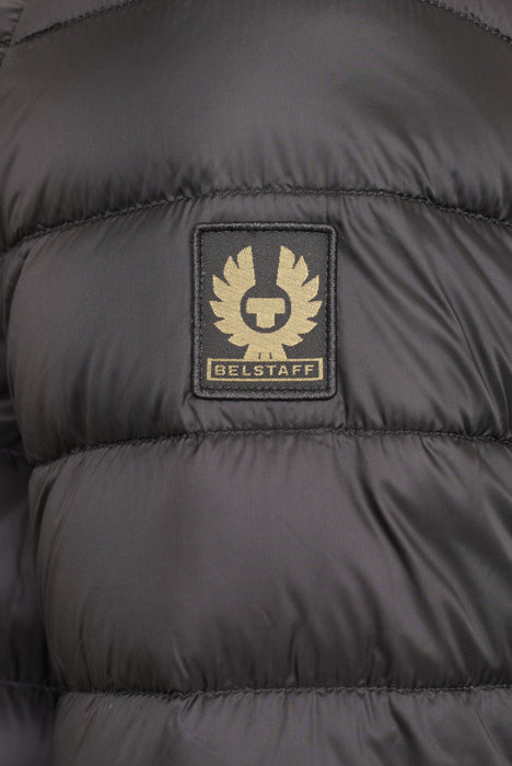 BELSTAFF CIRCUIT QUILTED BOMBER JACKET BLACK