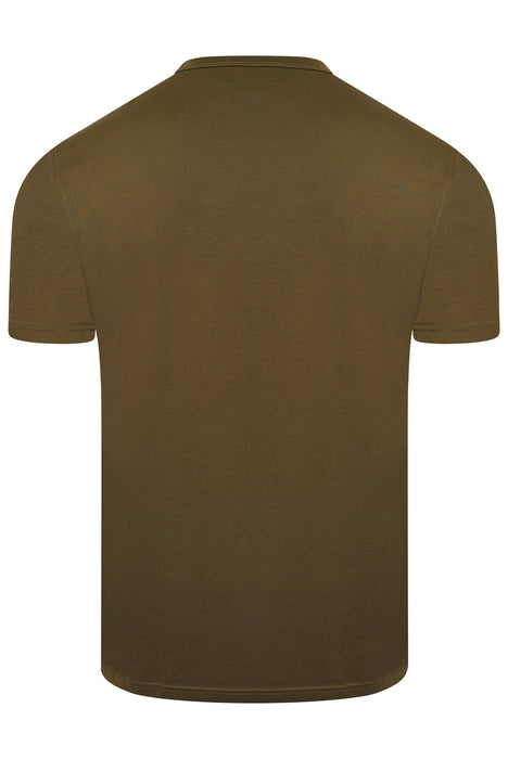BELSTAFF PATCH LOGO MERCERISED TEE GREEN