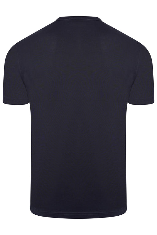 BELSTAFF PATCH LOGO MERCERISED TEE BLUE
