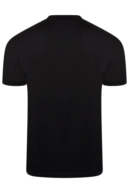 BELSTAFF PATCH LOGO MERCERISED TEE BLACK