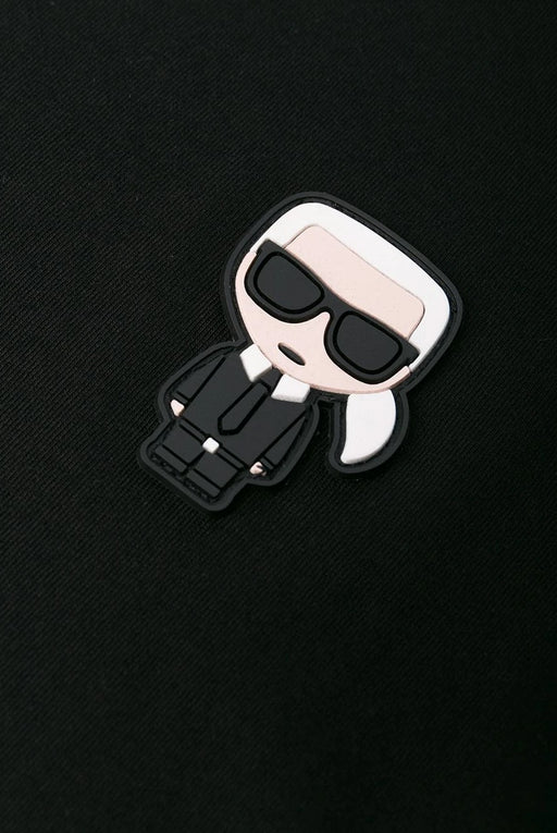 KARL LAGERFELD MINI KARL TEE BLACK - giancarloricci