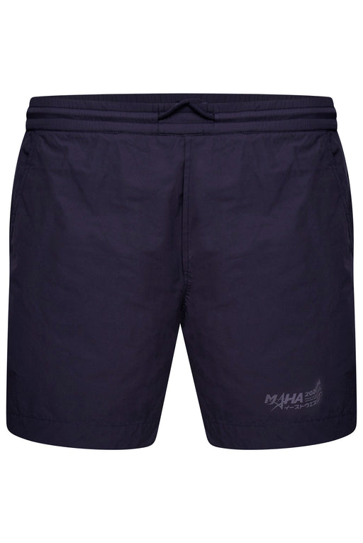 MAHARISHI PRINT LEG POLY COTTON SWIMMER BLUE - giancarloricci