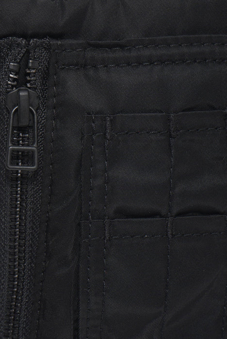 MAHARISHI CROSSBODY TRAVEL BAG BLACK - giancarloricci
