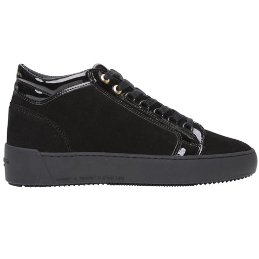 ANDROID HOMME PROPULSION SUEDE PATENT MID BLACK - giancarloricci