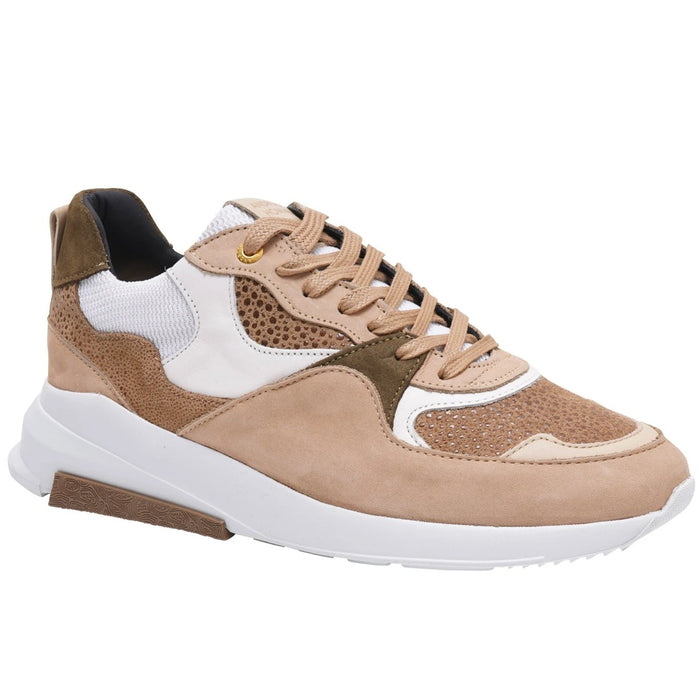 ANDROID HOMME STINGRAY SUEDE RUNNER BEIGE - giancarloricci