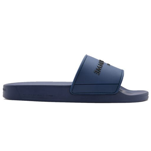 ANDROID HOMME EMBOSSED LOGO SLIDE BLUE - giancarloricci
