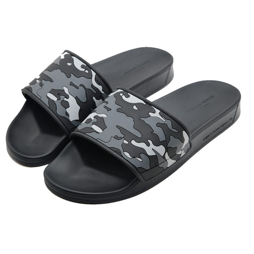 ANDROID HOMME CAMOUFLAGE SLIDE GREY - giancarloricci