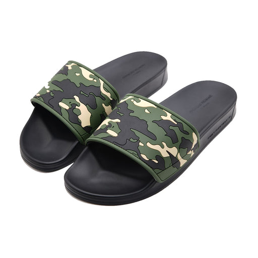 ANDROID HOMME CAMOUFLAGE SLIDE GREEN - giancarloricci