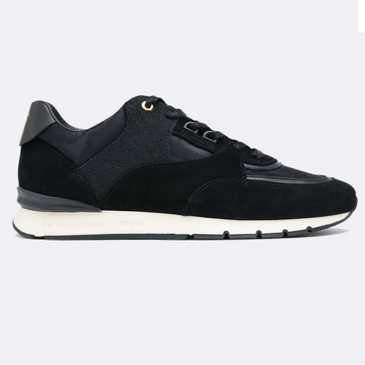 ANDROID HOMME BELTER CAVIAR CAMO RUNNER BLACK - giancarloricci
