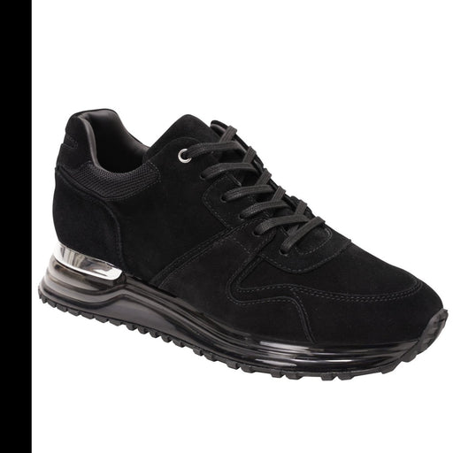 MALLET ALMORAH GAS SOLE SUEDE RUNNER BLACK