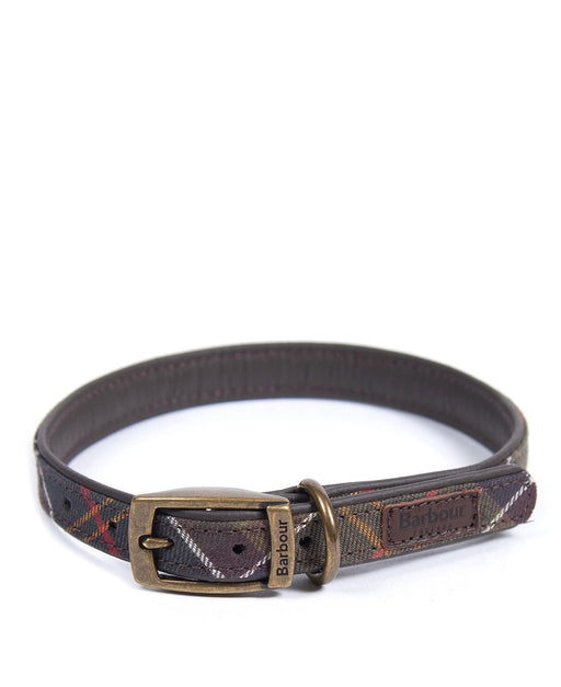 BARBOUR CLASSIC DOG COLLAR BROWN