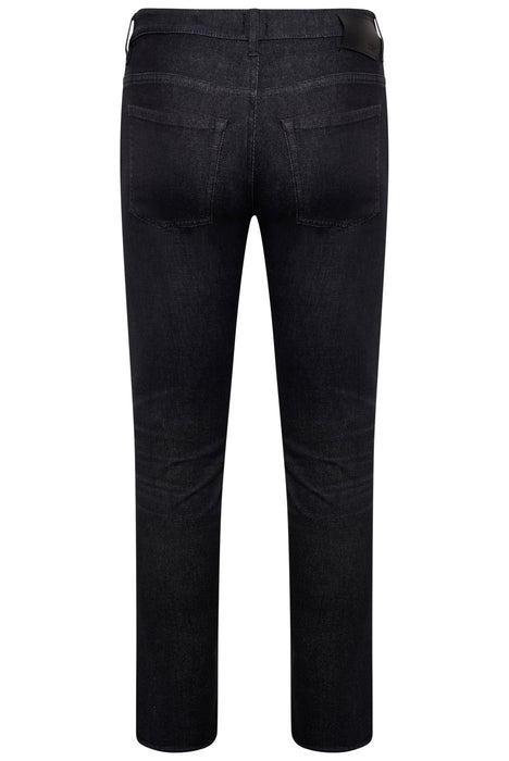 BOSS SMART CASUAL SLIM FIT CASHMERE TOUCH JEAN BLACK