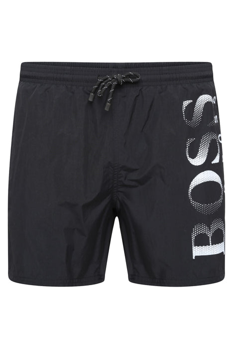 BOSS BODYWEAR OCTOPUS SWIMSHORT BLACK - giancarloricci