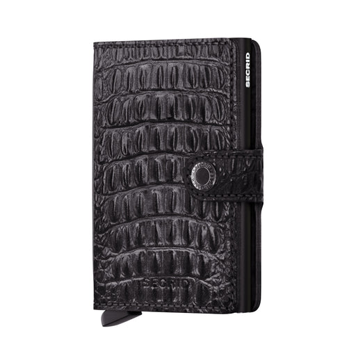 SECRID MINIWALLET NILE BLACK - giancarloricci