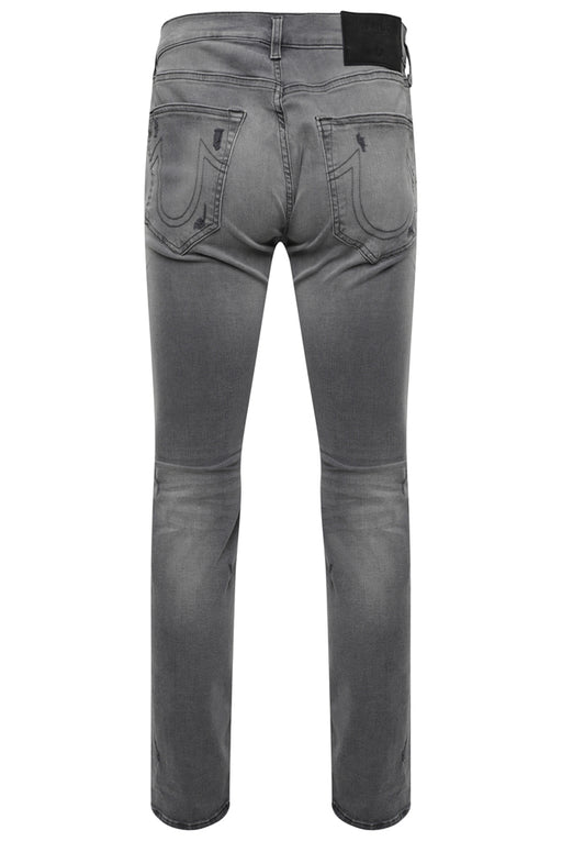 TRUE RELIGION SLIM FIT VINTAGE BIKER JEAN GREY - giancarloricci