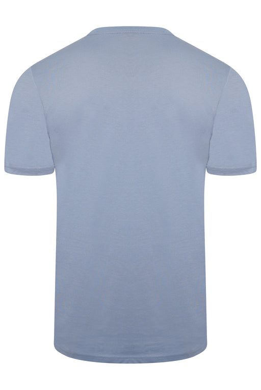 PAUL SMITH REGULAR FIT RABBIT BONES PRINT TEE BLUE