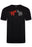 PAUL SMITH REGULAR FIT DOUBLE ZEBRA PRINT TEE BLACK